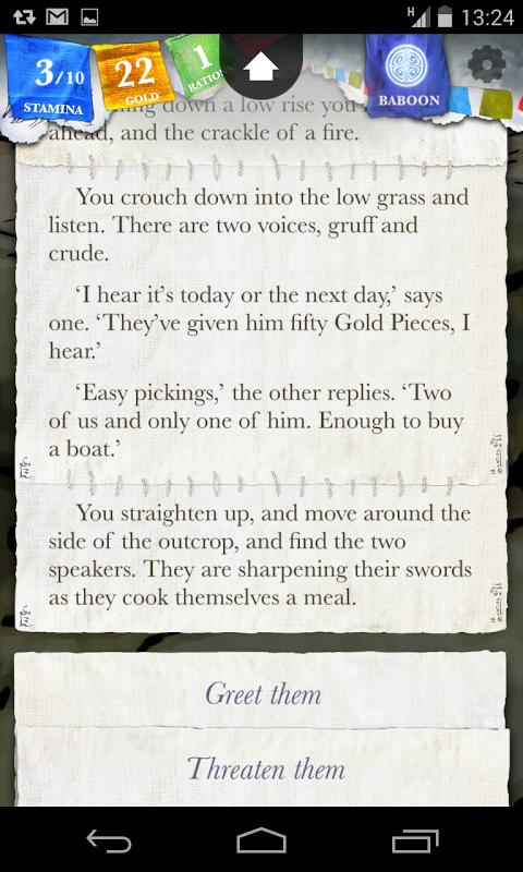 Sorcery! 1.4.6 Screen 7
