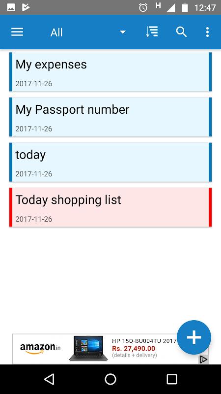 Safepad Notepad 4.8 Screen 3