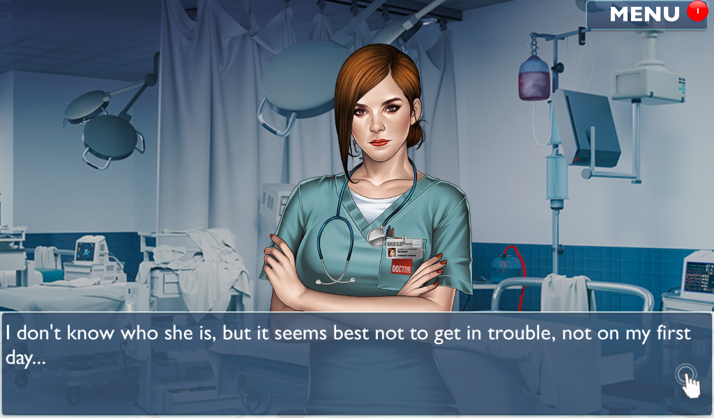 Android Is it Love? Blue Swan Hospital - Choose your story Screen 17