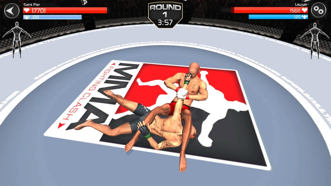 Android MMA Fighting Clash Screen 4