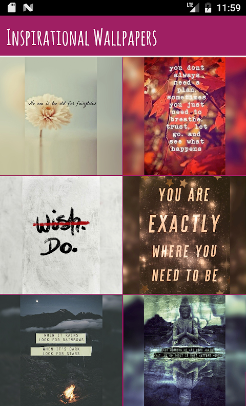 Inspirational Wallpapers Free 1 Screen 1