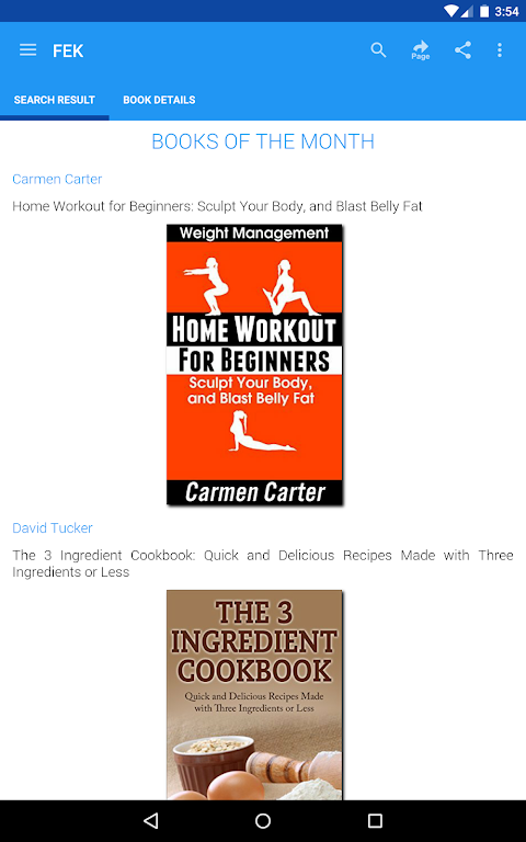 Android Free eBooks for Kindle Screen 11