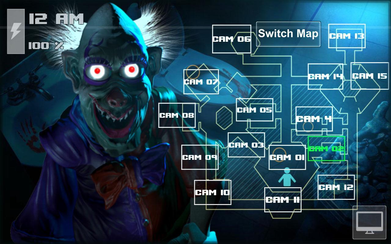 Android Zoolax Nights:Evil Clowns Full Screen 5