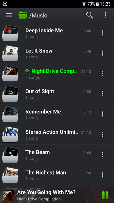 Android PlayerPro Music Player Screen 5