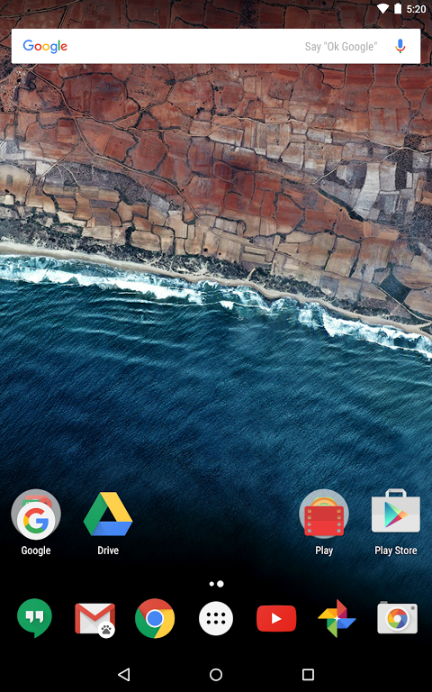 Android Google Now Launcher Screen 14