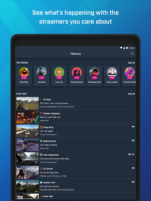 Mixer – Interactive Streaming 3.4.1 Screen 9