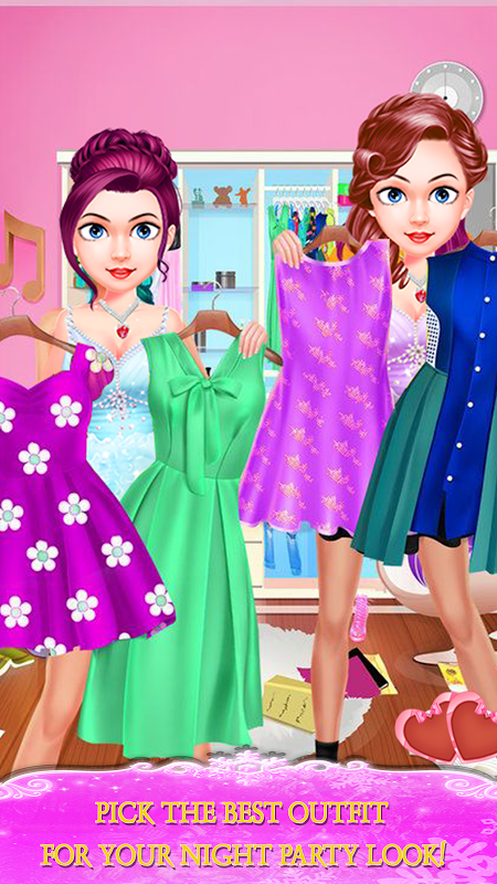 Android My Love Crush Makeover-Spa,Dress up & Makeup Screen 1