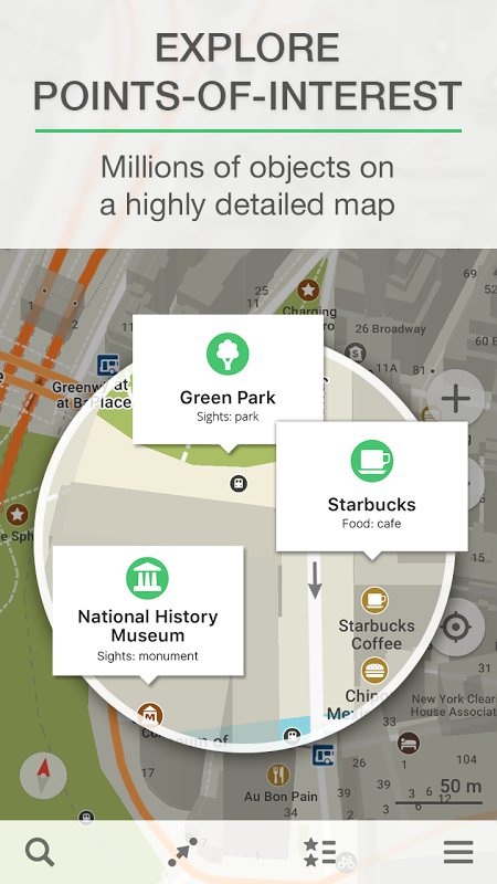 MAPS.ME Offline Map+Navigation 8.6.2-Google Screen 5