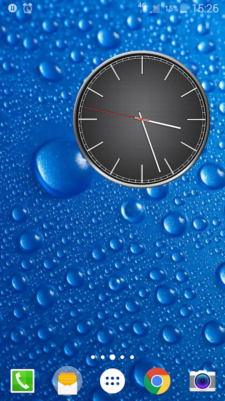 Battery Saving Analog Clocks Live Wallpaper 5.1 Screen 1