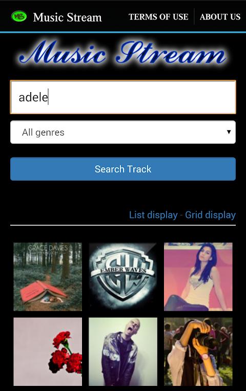 Music Stream 3 Screen 2