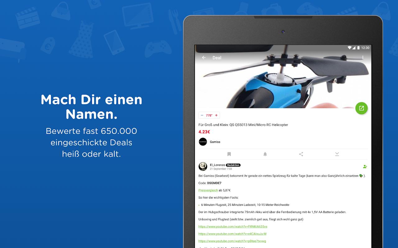 Android mydealz – Gutscheine, Schnäppchen, Angebote, Sale Screen 6