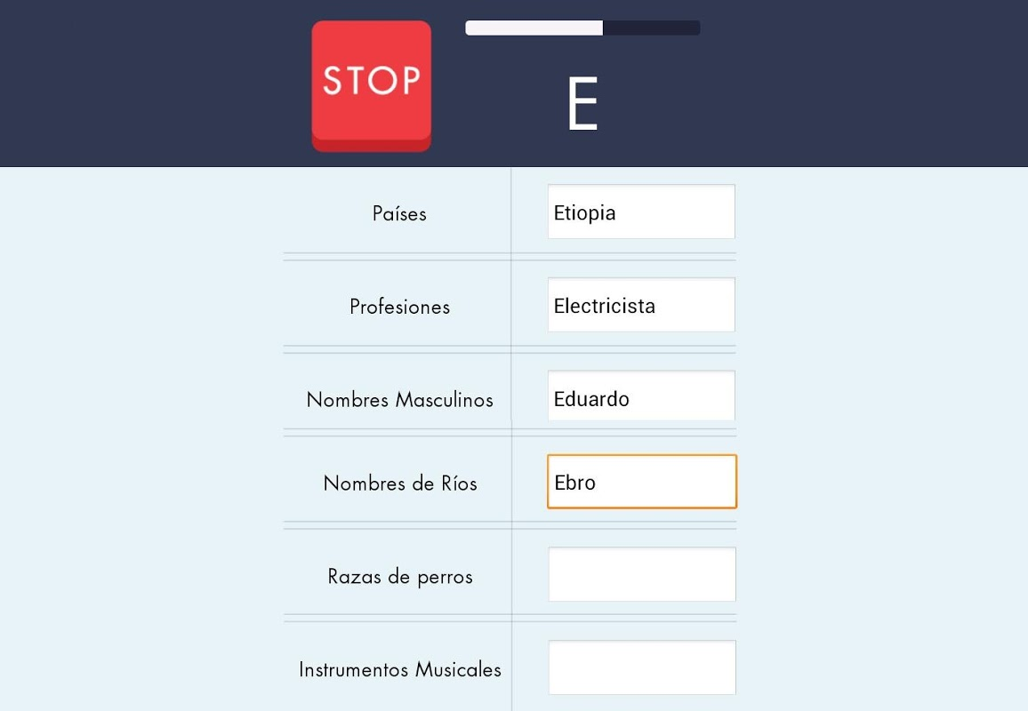 Android Stop - Categorizados Screen 1