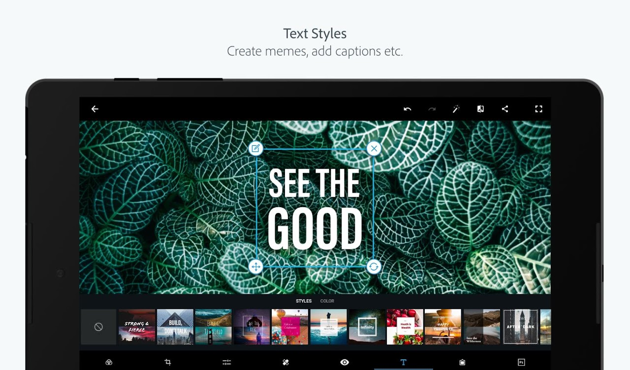 Adobe Photoshop Express:Photo Editor Collage Maker 5.8.561 Screen 11