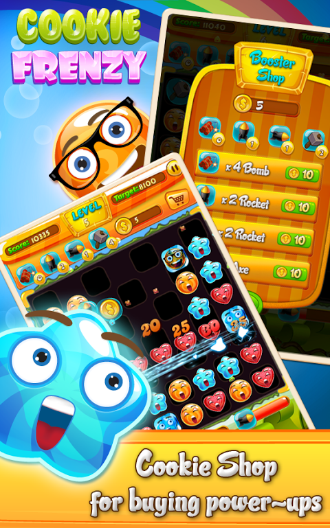 Android Cookie Frenzy Screen 7