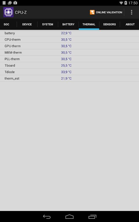 CPU-Z 1.32 Screen 15