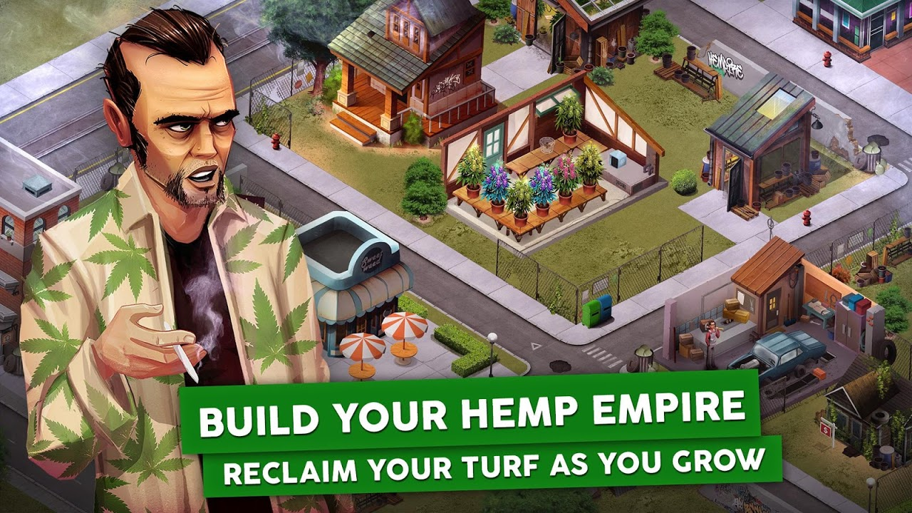 Android Hempire - Weed Growing Game Screen 5