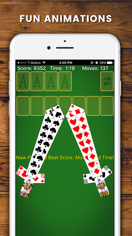 Solitaire 6.4.1.3381 Screen 7