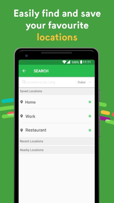 Android Careem - Car Booking App Screen 4