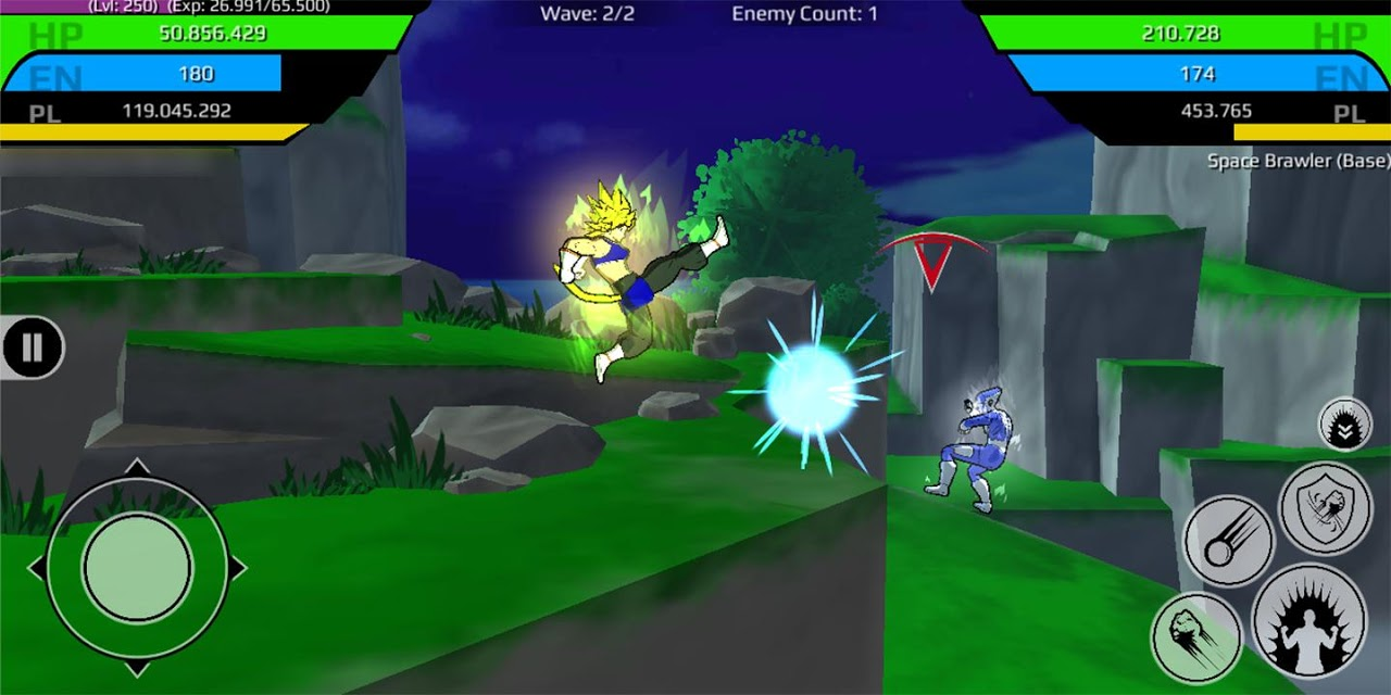 The Final Power Level Warrior (RPG) 1.2.7p2 Screen 6