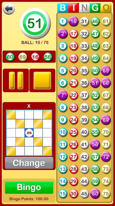 Bingo at Home 3.3.0 Screen 3