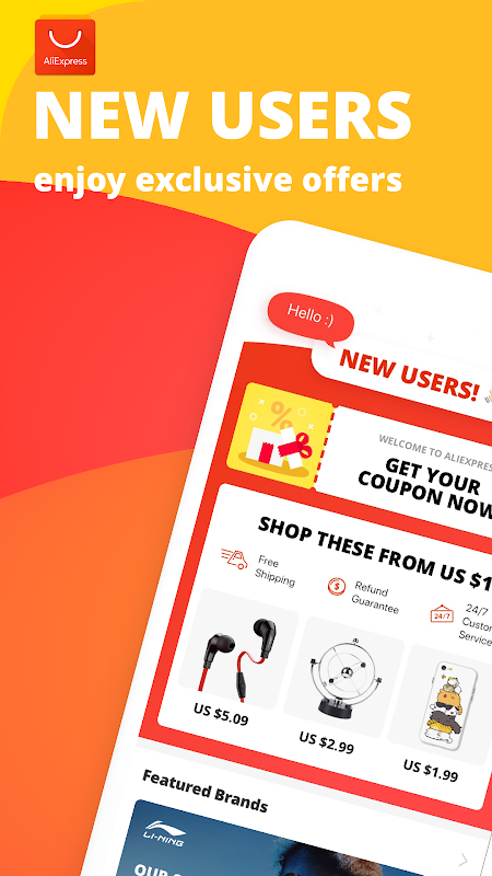 AliExpress Shopping App- $100 Coupons For New User 6.22.1-playgo Screen 9