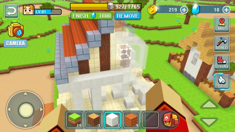Android World Craft Building Screen 4