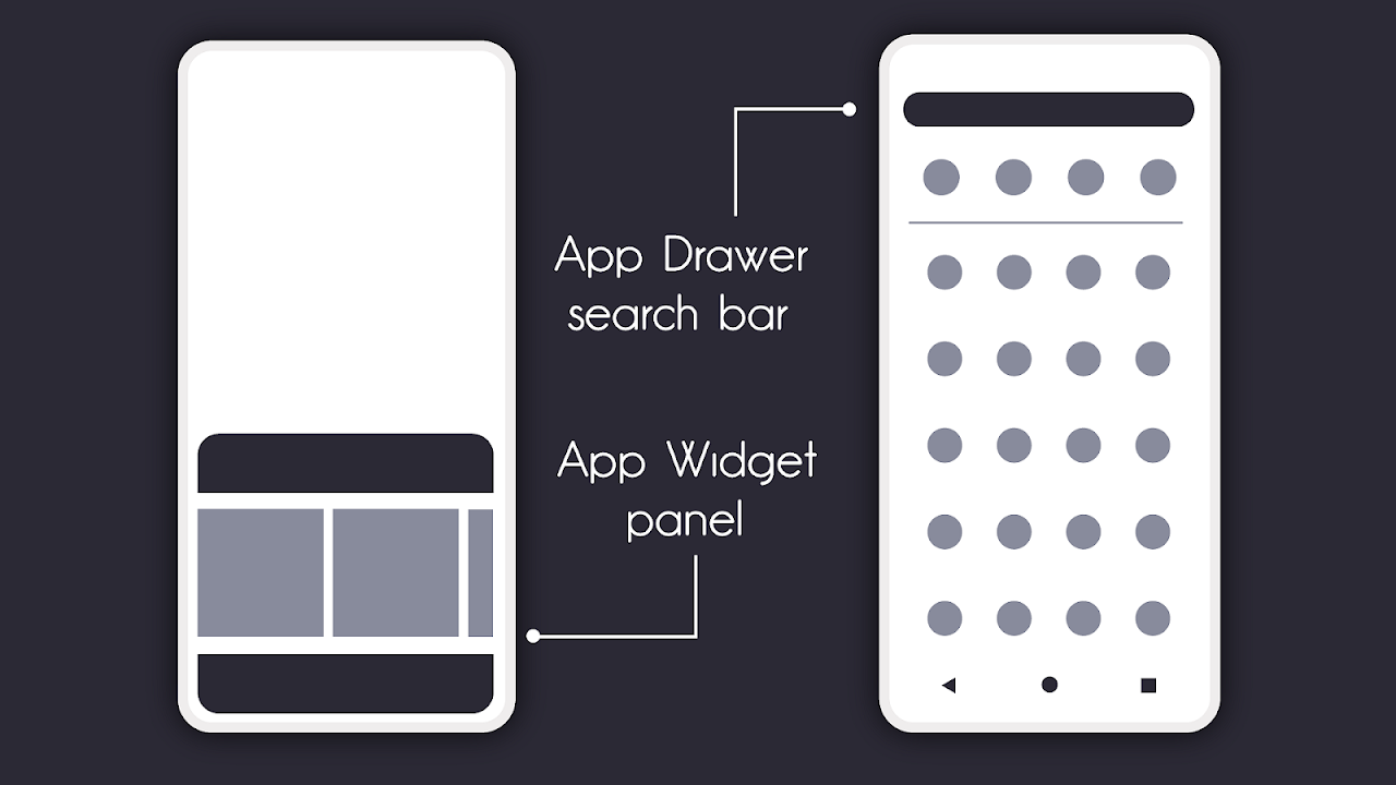 Flick Launcher 0.3.0 Screen 1