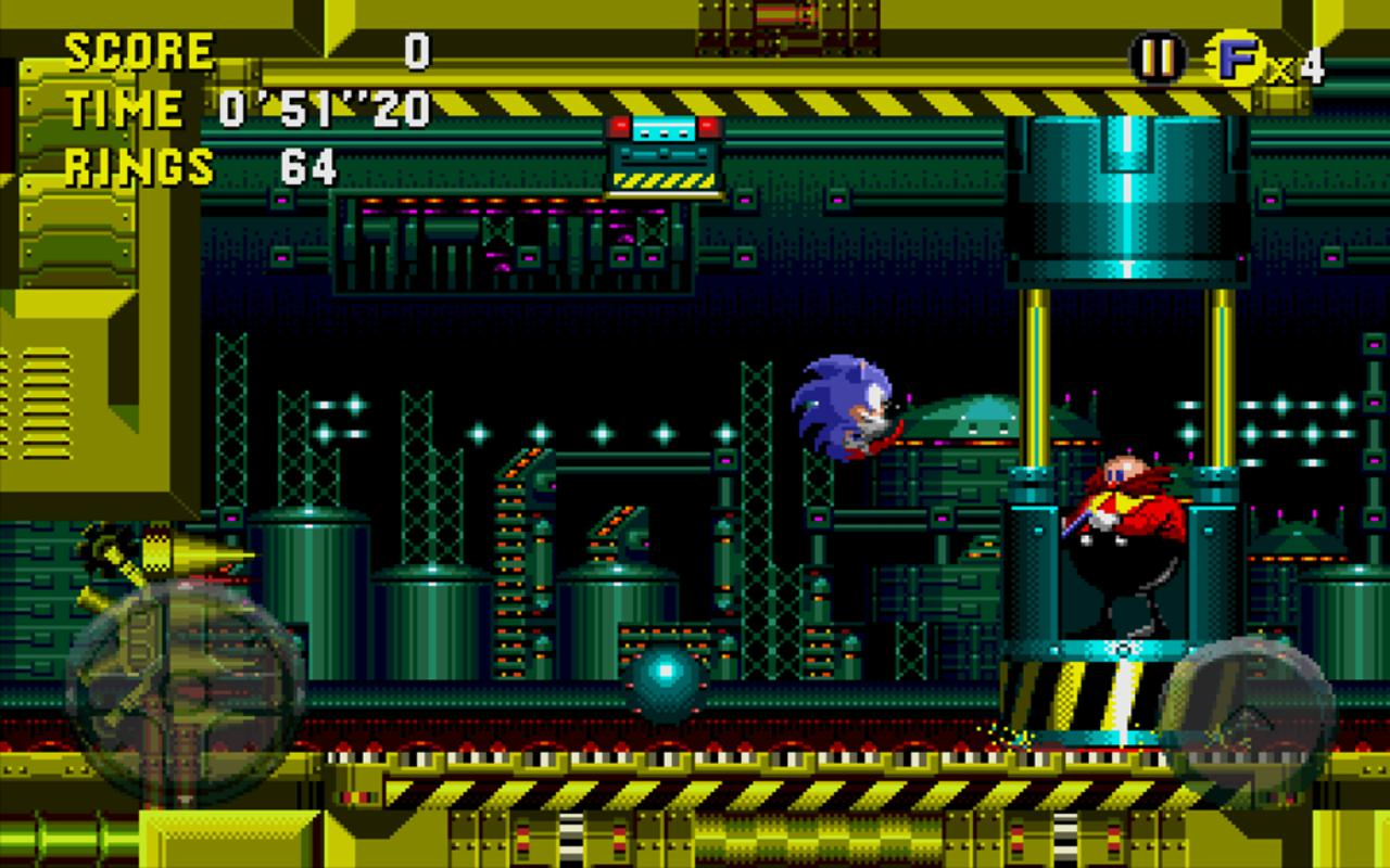 Android Sonic CD Screen 7