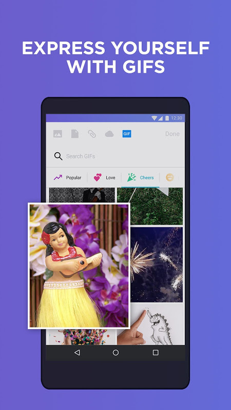 Android Yahoo Mail – Stay Organized Screen 2