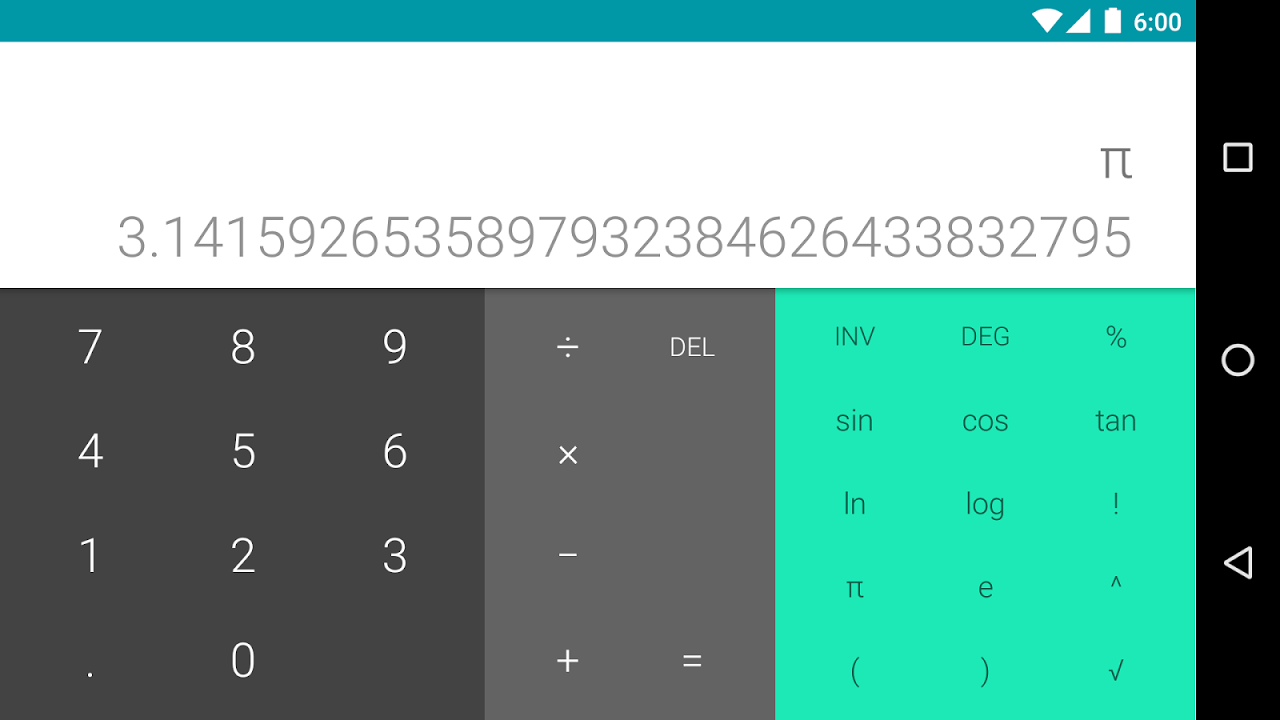 Calculator 5.2 (2419427) Screen 2