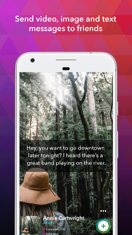Android ooVoo Video Calls, Messaging & Stories Screen 3