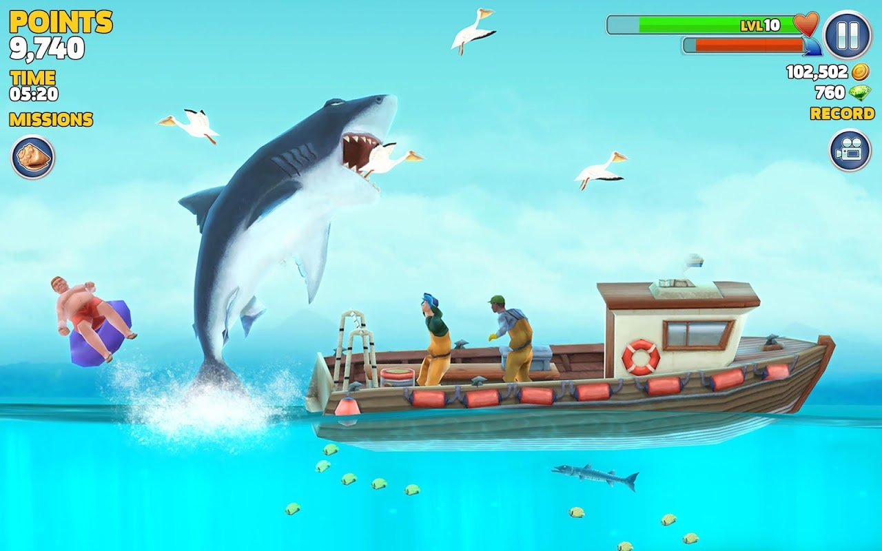 Android Hungry Shark Evolution (Mod) Screen 11