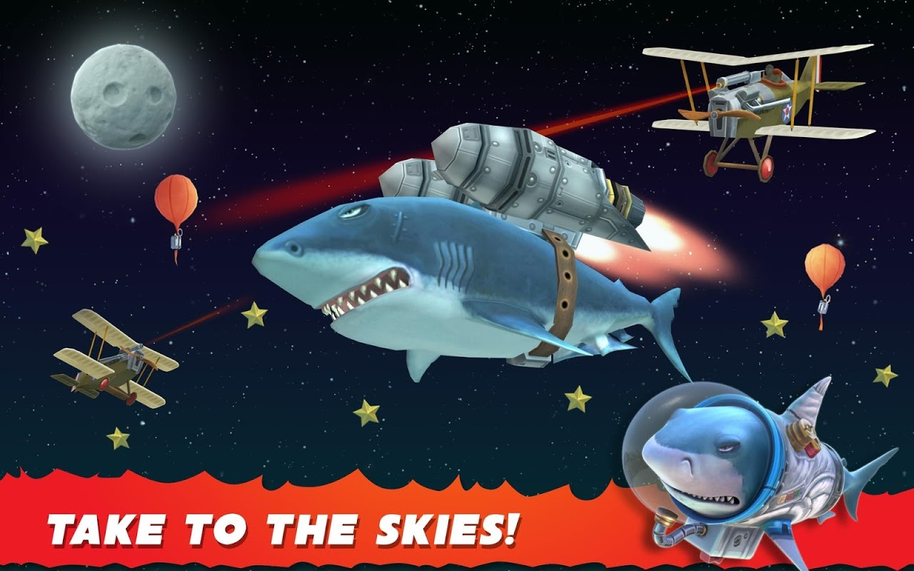 Android Hungry Shark Evolution (Mod) Screen 20
