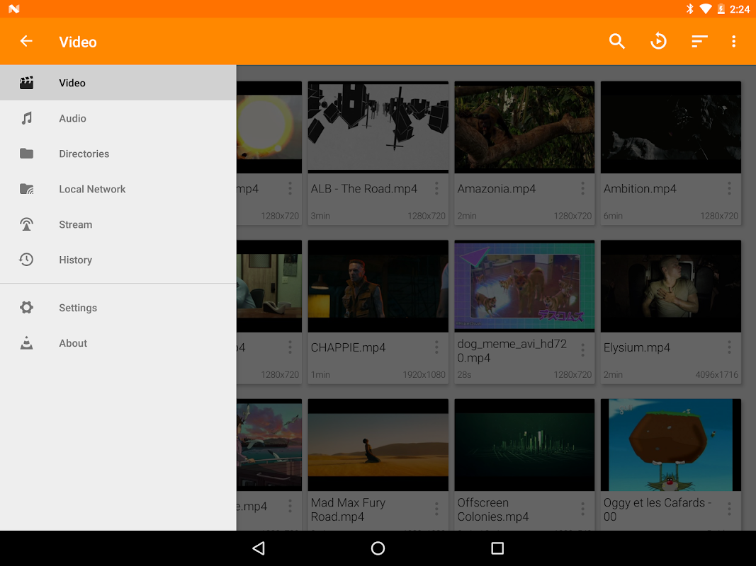 VLC for Android 3.1.0-RC4 Screen 15