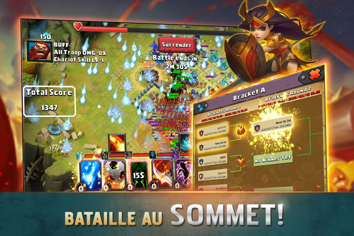 Android Clash of Lords 2: Clash Divin Screen 1
