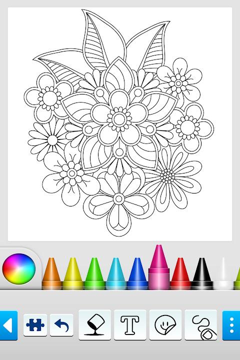 Mandala Coloring Pages 10.2.0 Screen 10