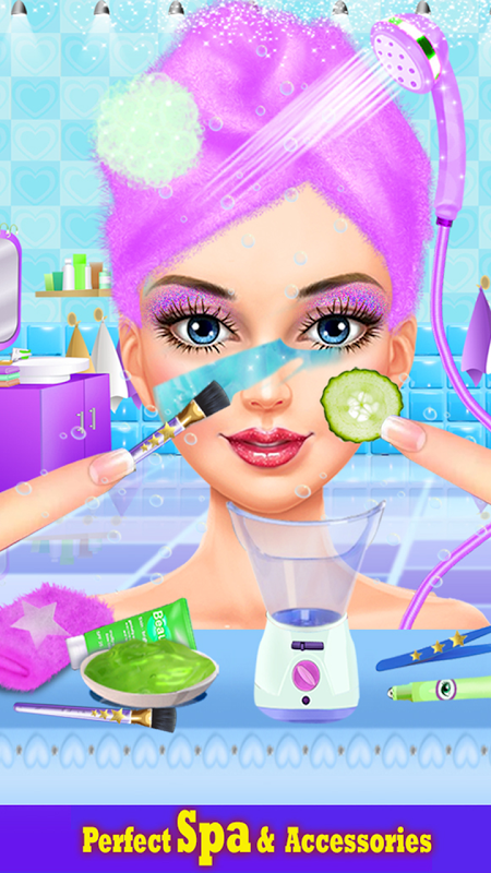 Android Lipstick Maker Makeup Game Screen 2