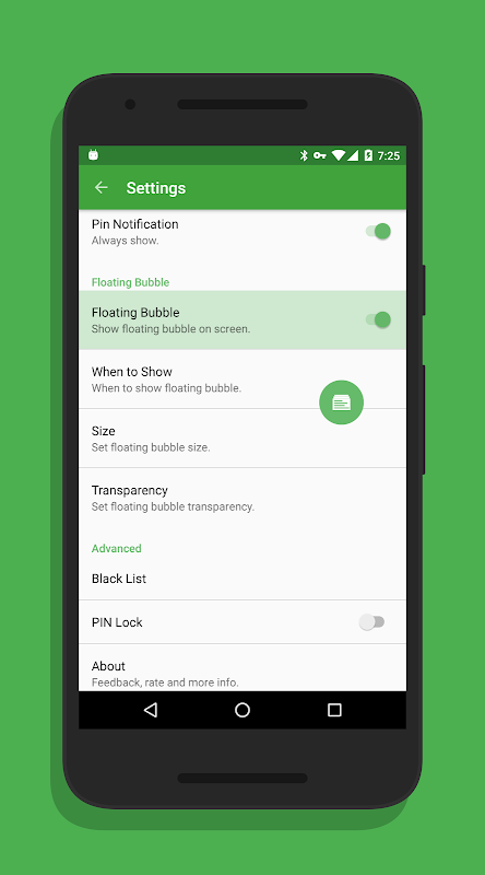 Clip Stack - Clipboard Manager 1.9.2 Screen 4