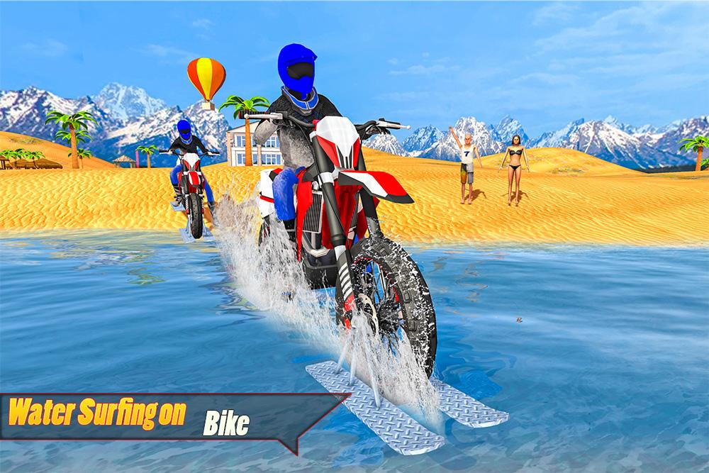 Android Water Surfing Bike Racing Screen 8
