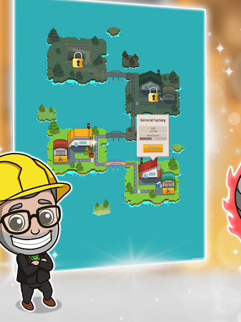Android Idle Factory Tycoon Screen 10
