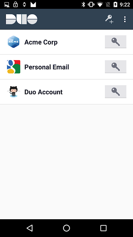 Duo Mobile 3.21.0 Screen 1