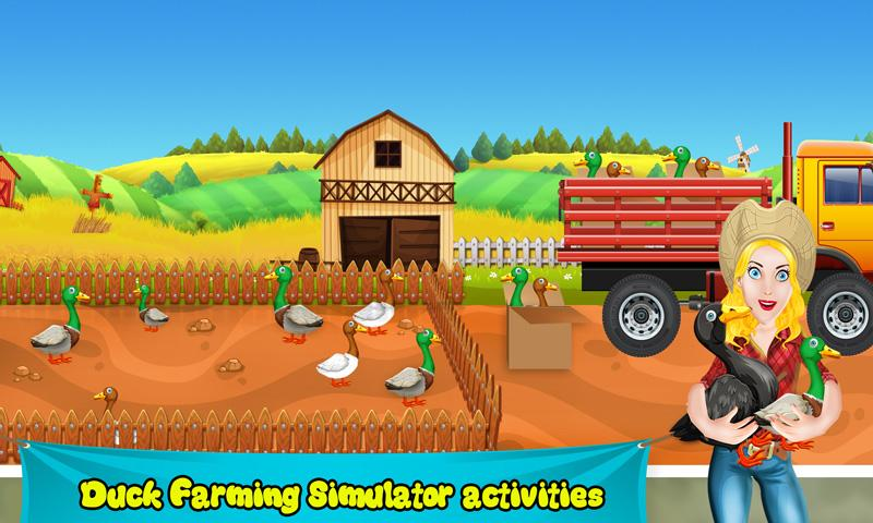 Android Duck Farm Breeding: Eggs & Chicken Poultry Farming Screen 1