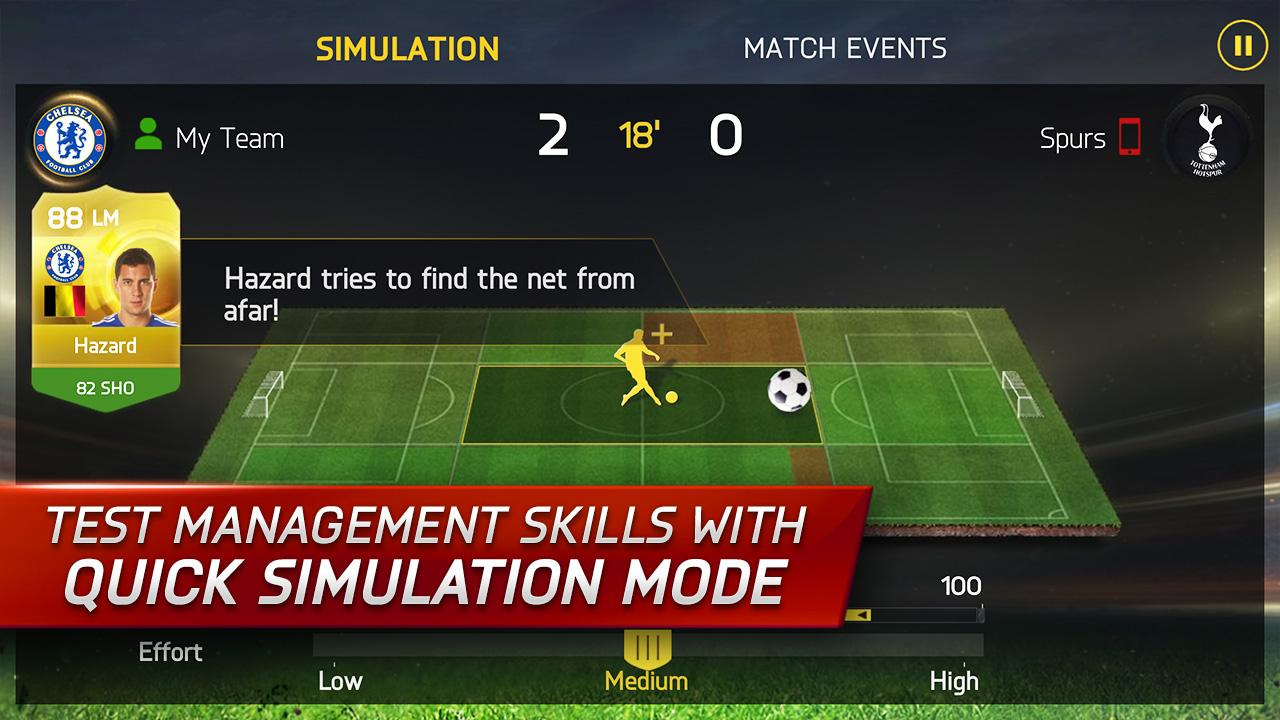 Android FIFA 15: UT Screen 9