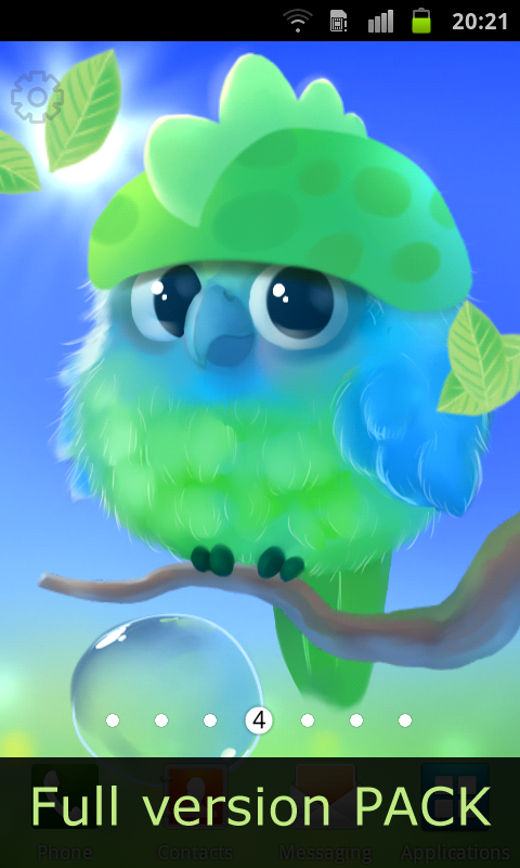 Android Kiwi The Parrot Screen 5