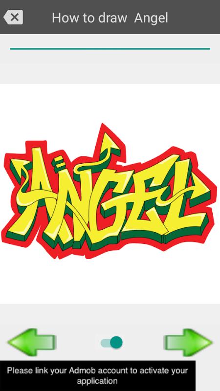 Android Draw graffiti 3D Screen 1