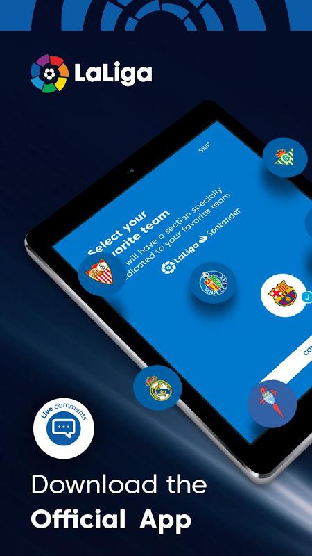 La Liga - Spanish Football League Official 7.3.8 Screen 7