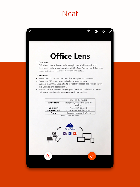 Android Microsoft Office Lens - PDF Scanner Screen 6