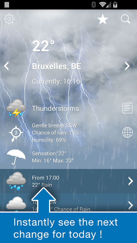 Weather Belgium XL PRO 1.4.3.6-be Screen 2