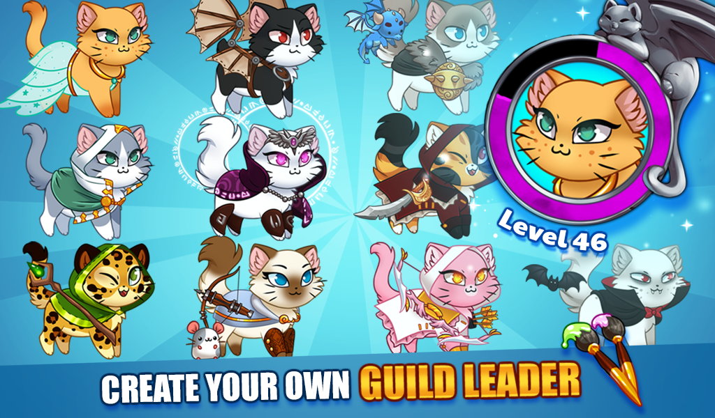 Android Castle Cats: Epic Story Quests Screen 8