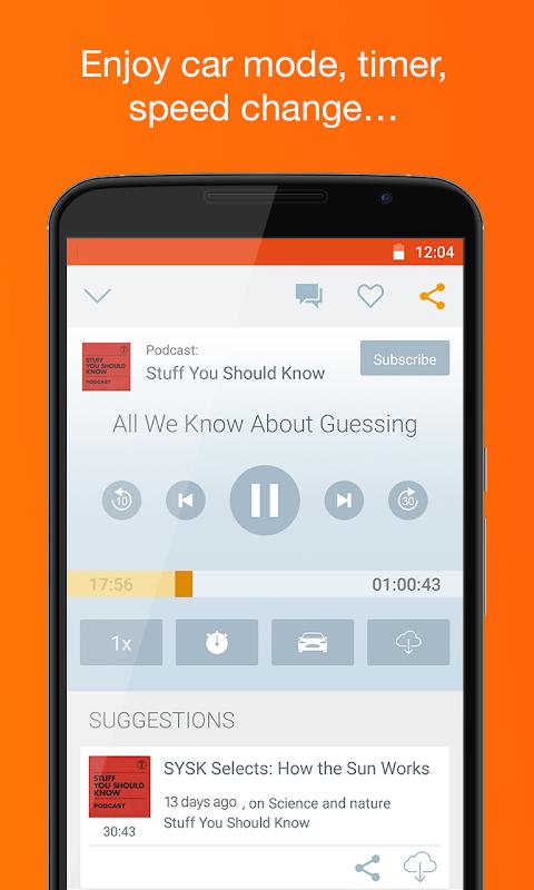 Podcast & Radio iVoox 2.221 Screen 3